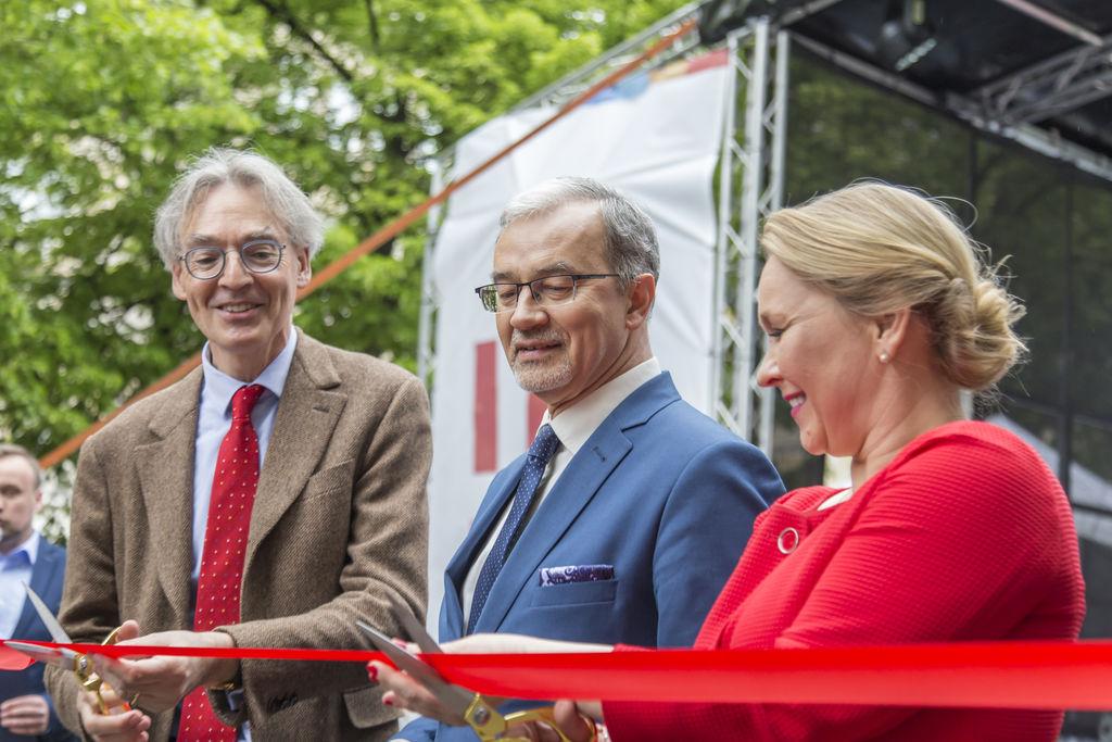 Uroczyste otwarcie miasteczka Funduszy Europejskich